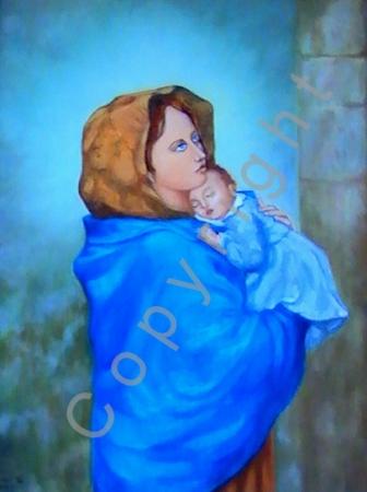 © Diana Seget - Madonna - 60 x 80 cm - Öl - Preis: 5.700,-- €