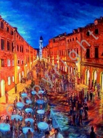 © Diana Seget - Boulevard - 60 x 80 cm - Acryl - Preis: 6.800,-- €