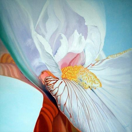 © Udo Becker - Iris - Öl auf Leinwand - 2010 - 90 x 90 cm - Kunstdrucke erhältlich