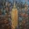 © Udo Becker - Empire State Building, New York - Acrylfarbe auf Leinwand - 120 x 160 cm
