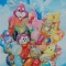 © Udo Becker - Luftballons - Mischtechnik Acrylfarbe und Ölfarbe auf Leinwand - 90 x 120 cm