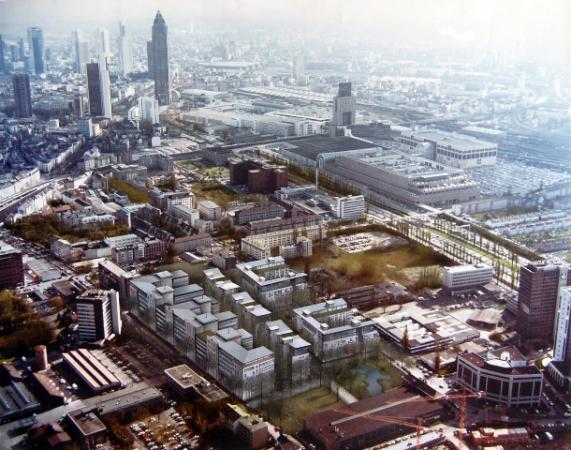 © Udo Becker - zukünftiger Neubau der City West nach Architektenangaben eingezeichnet